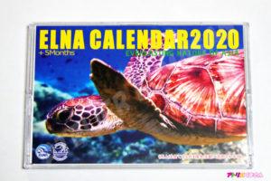 ELNAカレンダー完成品